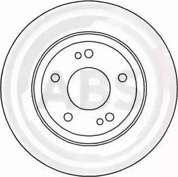 A.B.S. 16480 - Bremžu diski interparts.lv