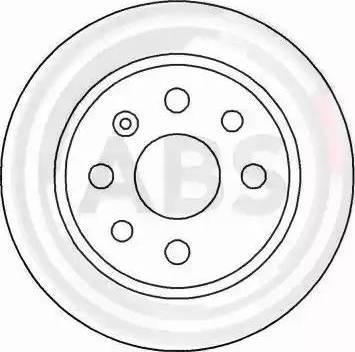 A.B.S. 16488 - Bremžu diski interparts.lv