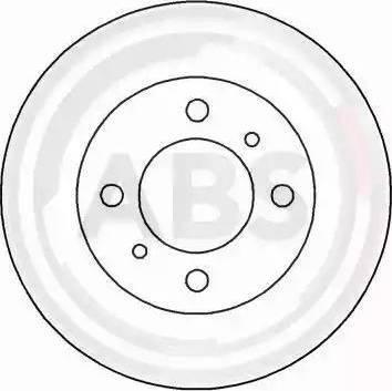 A.B.S. 16483 - Bremžu diski interparts.lv