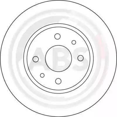 A.B.S. 16422 - Bremžu diski interparts.lv
