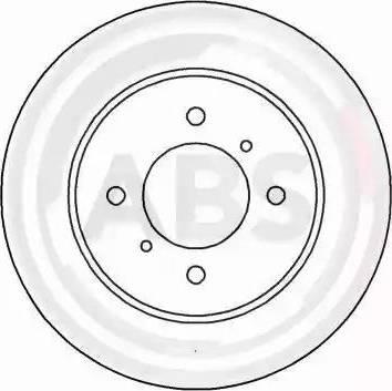 A.B.S. 16473 - Bremžu diski interparts.lv