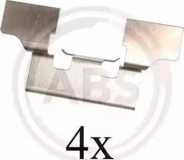 A.B.S. 1647Q - Piederumu komplekts, Disku bremžu uzlikas interparts.lv