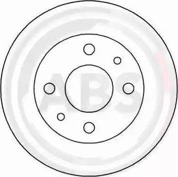 A.B.S. 16595 - Bremžu diski interparts.lv