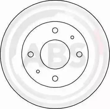 A.B.S. 16590 - Bremžu diski interparts.lv