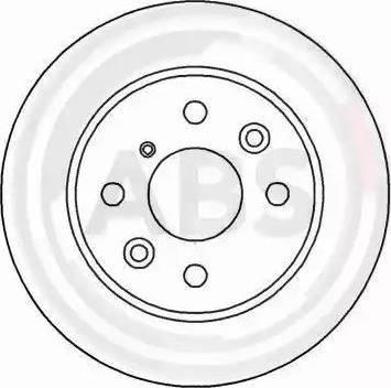 A.B.S. 16592 - Bremžu diski interparts.lv