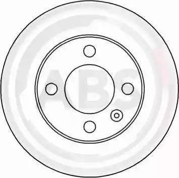 A.B.S. 16541 - Bremžu diski interparts.lv