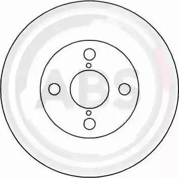 A.B.S. 16543 - Bremžu diski interparts.lv