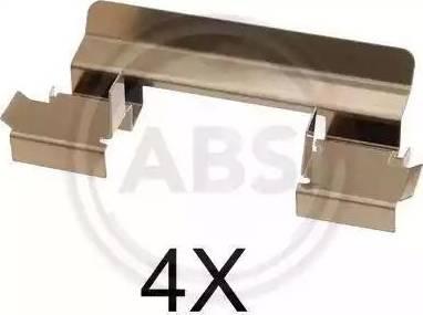 A.B.S. 1655Q - Piederumu komplekts, Disku bremžu uzlikas interparts.lv
