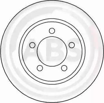 A.B.S. 16569 - Bremžu diski interparts.lv