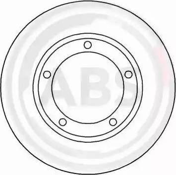 A.B.S. 16562 - Bremžu diski interparts.lv