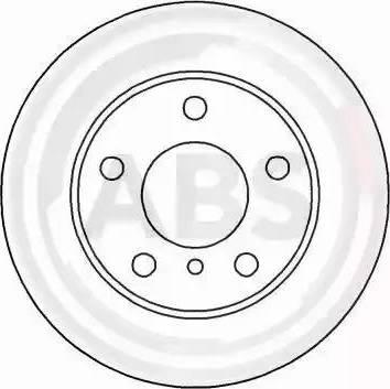 A.B.S. 16567 - Bremžu diski interparts.lv