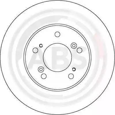 A.B.S. 16588 - Bremžu diski interparts.lv