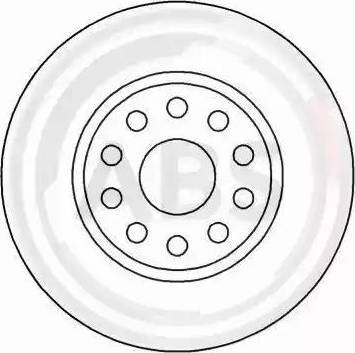 A.B.S. 16582 - Bremžu diski interparts.lv