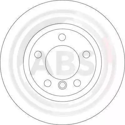 A.B.S. 16536 - Bremžu diski interparts.lv