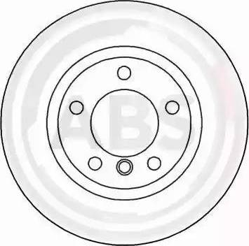 A.B.S. 16537 - Bremžu diski interparts.lv