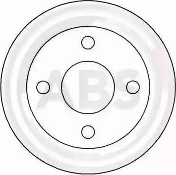 A.B.S. 16529 - Bremžu diski interparts.lv