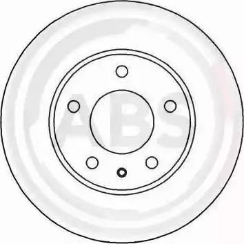 A.B.S. 16524 - Bremžu diski interparts.lv