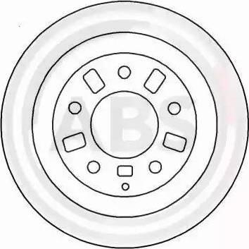 A.B.S. 16523 - Bremžu diski interparts.lv