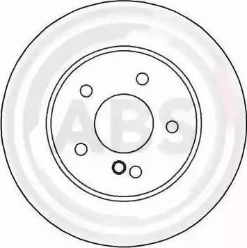 A.B.S. 16571 - Bremžu diski interparts.lv
