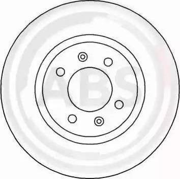 A.B.S. 16649 - Bremžu diski interparts.lv