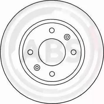 A.B.S. 16648 - Bremžu diski interparts.lv