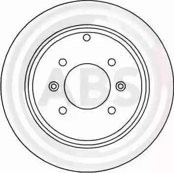A.B.S. 16647 - Bremžu diski interparts.lv