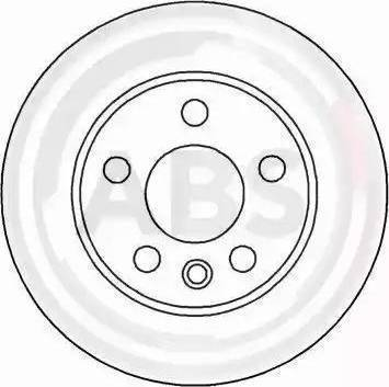 A.B.S. 16659 - Bremžu diski interparts.lv