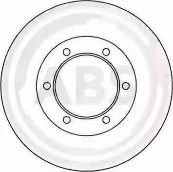A.B.S. 16656 - Bremžu diski interparts.lv
