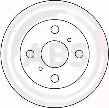 A.B.S. 16651 - Bremžu diski interparts.lv