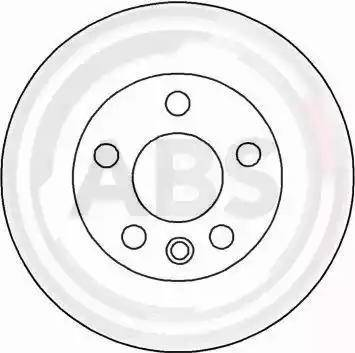 A.B.S. 16658 - Bremžu diski interparts.lv