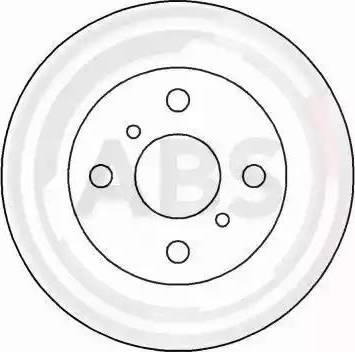 A.B.S. 16652 - Bremžu diski interparts.lv