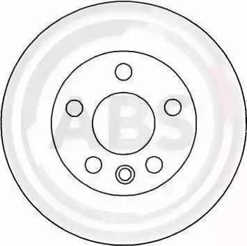 A.B.S. 16657 - Bremžu diski interparts.lv