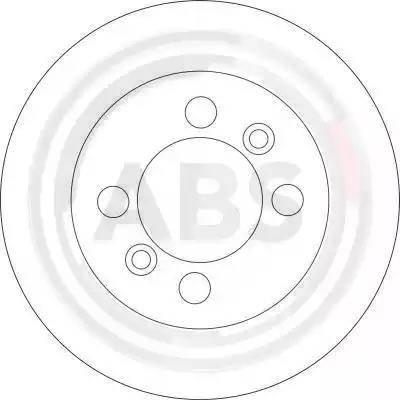 A.B.S. 16609 - Bremžu diski interparts.lv