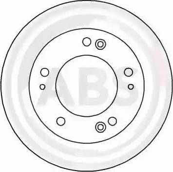 A.B.S. 16604 - Bremžu diski interparts.lv