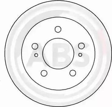 A.B.S. 16601 - Bremžu diski interparts.lv