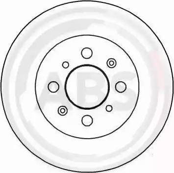 A.B.S. 16607 - Bremžu diski interparts.lv