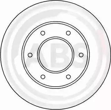 A.B.S. 16615 - Bremžu diski interparts.lv