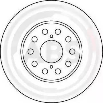 A.B.S. 16612 - Bremžu diski interparts.lv
