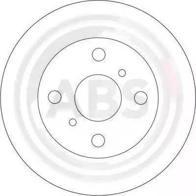 A.B.S. 16617 - Bremžu diski interparts.lv