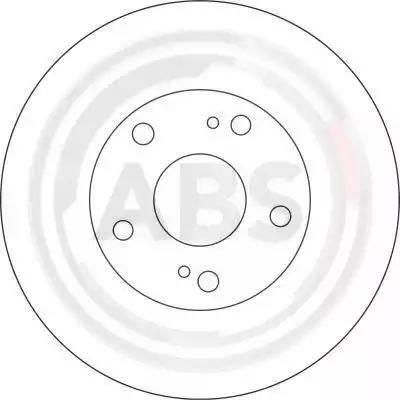 A.B.S. 16639 - Bremžu diski interparts.lv