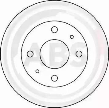 A.B.S. 16635 - Bremžu diski interparts.lv