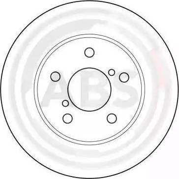 A.B.S. 16631 - Bremžu diski interparts.lv