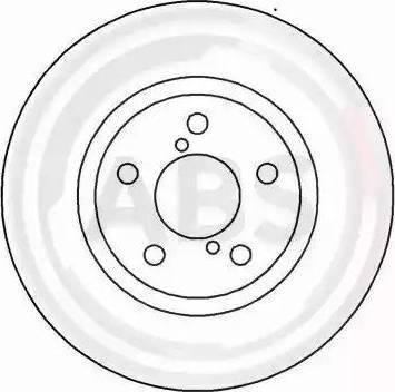 A.B.S. 16632 - Bremžu diski interparts.lv