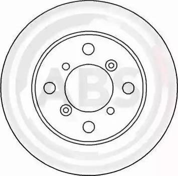 A.B.S. 16625 - Bremžu diski interparts.lv