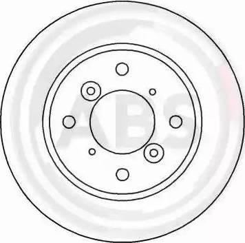 A.B.S. 16626 - Bremžu diski interparts.lv