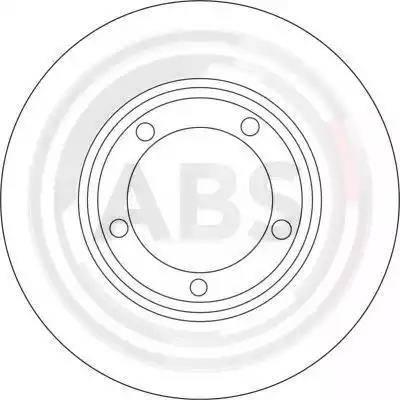 A.B.S. 16670 - Bremžu diski interparts.lv