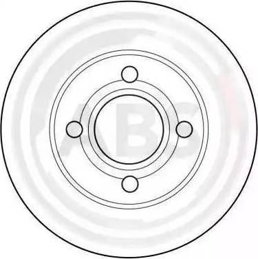 A.B.S. 16096 - Bremžu diski interparts.lv