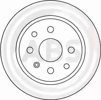 A.B.S. 16092 - Bremžu diski interparts.lv
