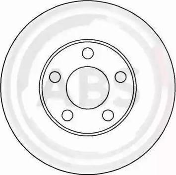 A.B.S. 16097 - Bremžu diski interparts.lv