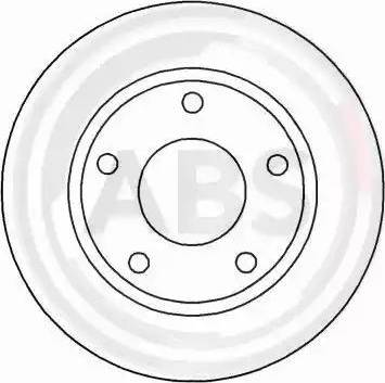 A.B.S. 16049 - Bremžu diski interparts.lv
